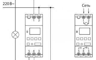 Как подключить и настроить таймер управления освещением