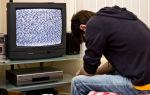 Почему не показывает телевизор