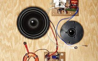 Ремонт акустических систем своими руками