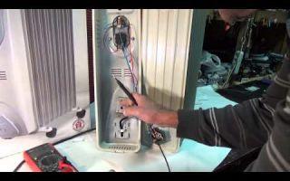 Как отремонтировать масляный обогреватель