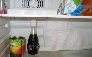 Почему в холодильнике намерзает лёд