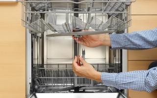 Самостоятельный ремонт посудомоечных машин