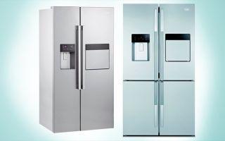 Холодильник двустворчатый
