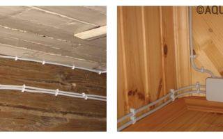 Как правильно сделать электропроводку в деревянном доме