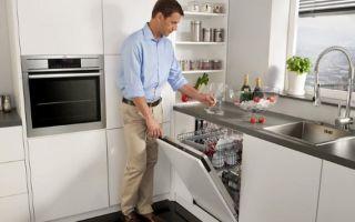 Выбор посудомоечной машины по параметрам