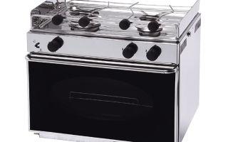 Газовая плита двухконфорочная с духовкой