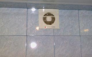 Как правильно установить вентилятор в туалете или ванной