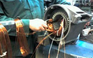 Как разобрать электродвигатель
