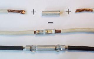 Как нарастить или соединить два электрических провода или кабеля