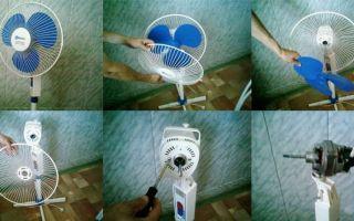 Ремонт вентиляторов своими руками