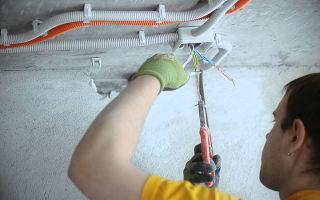 Ремонт и замена электропроводки в квартире и доме