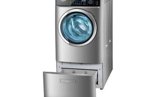 Узкая стиральная машина с сушкой