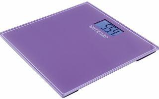 Электронные весы напольные