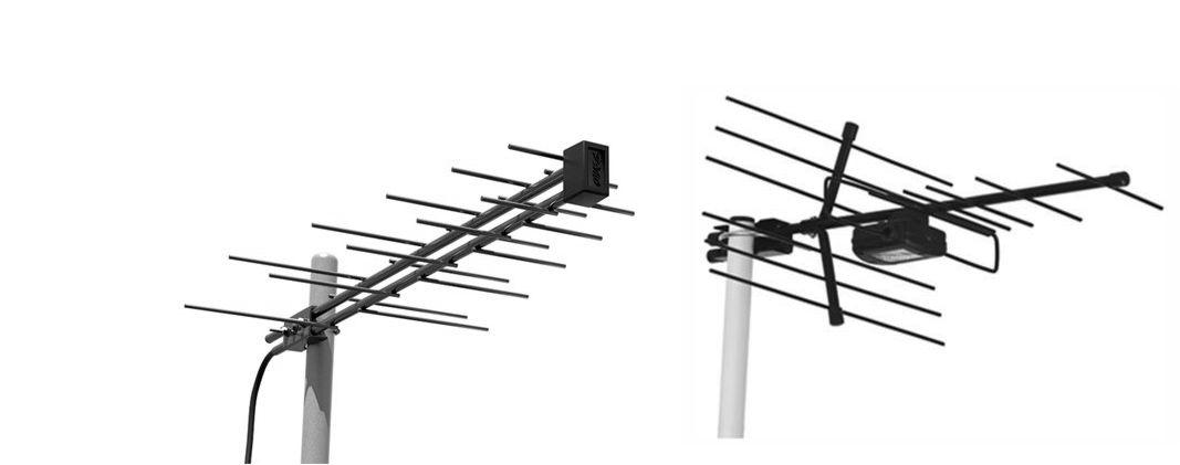 Простая широкодиапазонная тв антенна